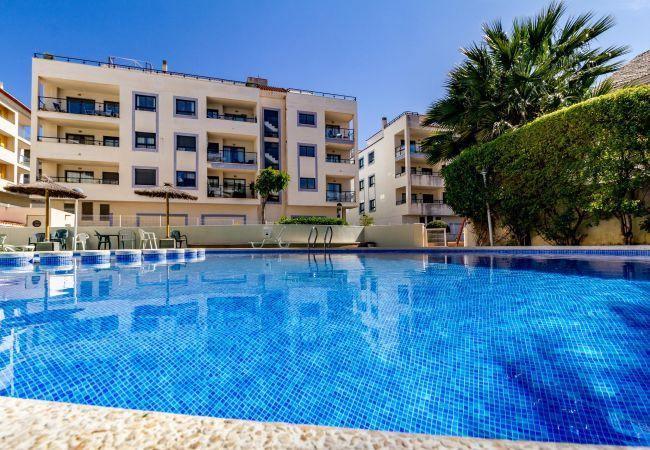 in Moraira - Calamora 2 bedroom double/bunk beds - apartment 6ppl